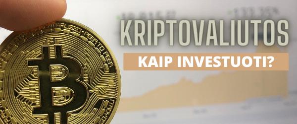 kiek investavote į kripto valiutą