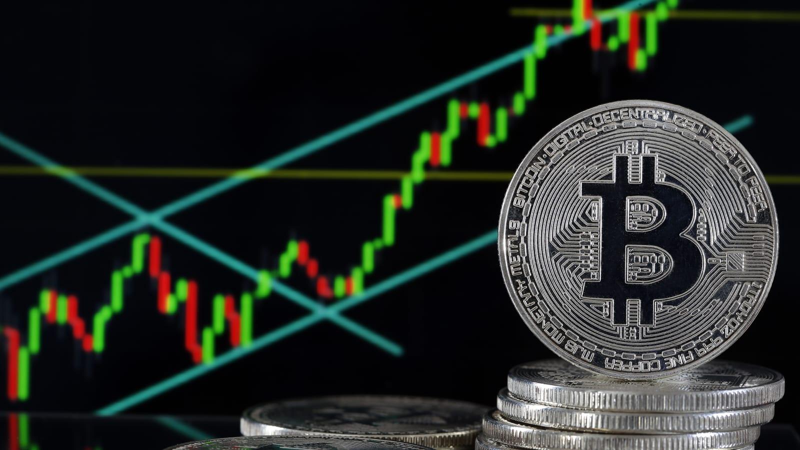 investuodami  doleri bitkoin bollinger juostos tesla