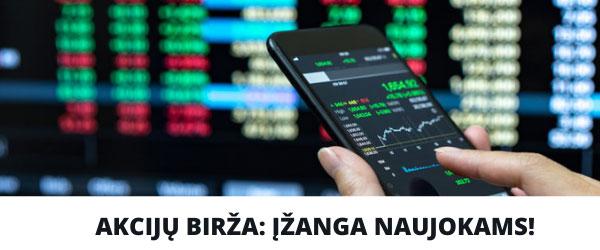 pigių akcijų prekybos galimybės